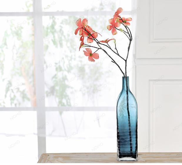 北欧工艺布鲁尔玻璃花瓶