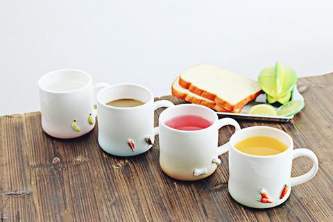 创意手绘日式陶瓷杯