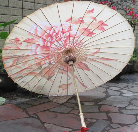 泸州油纸伞厂_泸州桐香坊 牡丹油纸伞